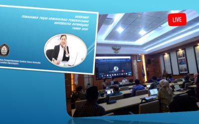 Pentingnya Pemahaman Tugas Administrasi Pemerintahan Bagi Pegawai Universitas Diponegoro